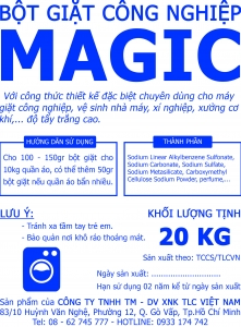 Bột giặt công nghiệp MAGIC